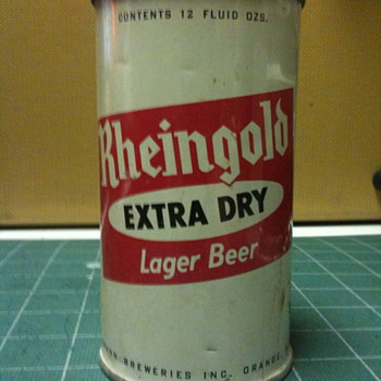 Vintage Rheingold 12 Oz. beer can - Breweriana