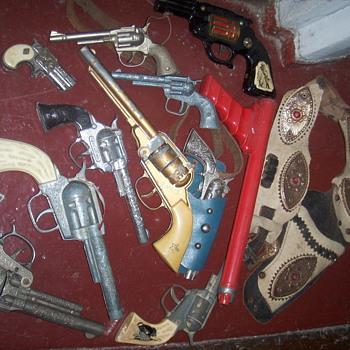 Cap gun collection - Toys