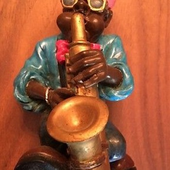 Saxophone player figurine by The Summit Collection - Figurines