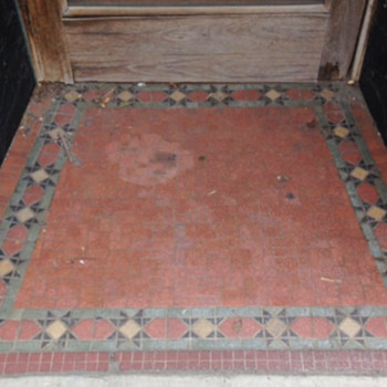 Doorway Mosaic, Wilkes-Barré, PA - Tools and Hardware
