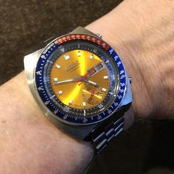 Vintage Seiko Pogue Rare Australian Model  6139 6002 - Wristwatches