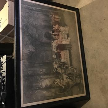 Congress 1882 Engraved Print ? - Politics