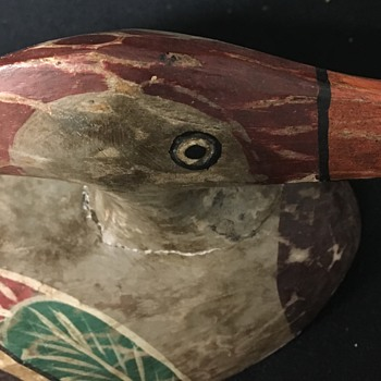 Antique Duck Decoy Gift from Father Never Seen One Like It!!! - Folk Art