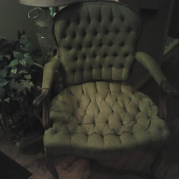 My favorite great grandmother chair