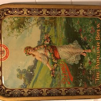 Prima beer tray - Breweriana