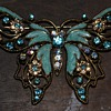 Nina Ricci for Avon Butterfly Brooch - 1980s