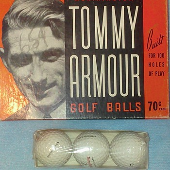 Blame it all on Tommy Armour.