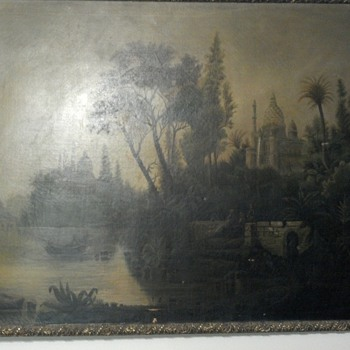 Help Identify Saved Midwest Painting - Fine Art