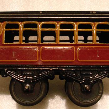 Karl Bub Nüremberg (KBN) clockwork trains (O Gauge) Germany 1940´s - Model Trains
