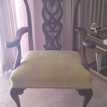 How to tell the age of a Chippendale Chair ? - Furniture
