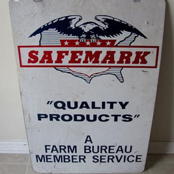 SAFEMARK Farm Bureau Sign
