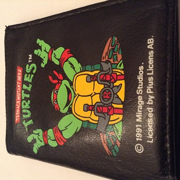 Found a never used turtles wallet from 1991, perfekt mint, unique item?