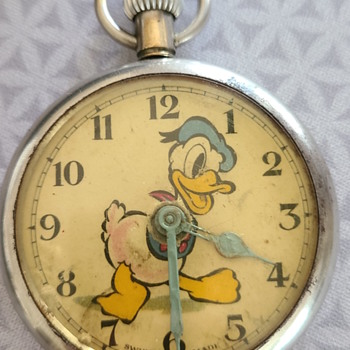 Donald Duck Pocket Watch - Advertising
