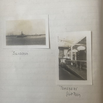 More information on the diary  - Military and Wartime