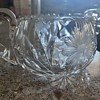 Early American Pattern Glass sugar and creamer