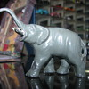 Metal elephant figure