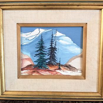 Mt. Hood Watercolor? - Fine Art
