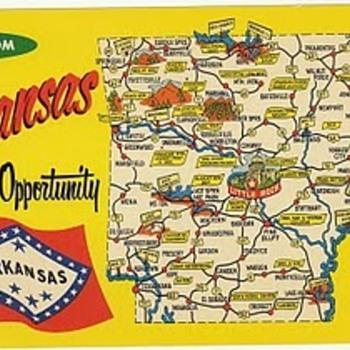 Arkansas - Postcards