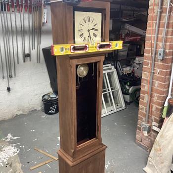 1800's era Gustav Becker grandfather clock restoration update #2  - Clocks
