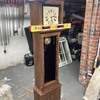 1800's era Gustav Becker grandfather clock restoration update #2