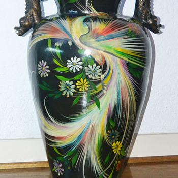 Huge Tonalá burnished bird urn - Pottery
