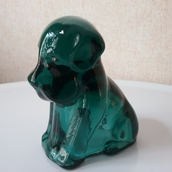 Degenhart Glass dog  - Animals