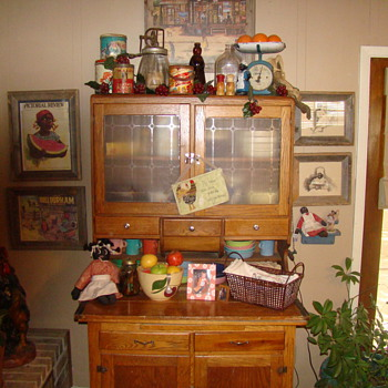 Old Kitchen Cabinet - Furniture
