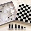 Mid Century Acrylic Chess Set