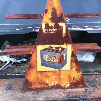 Exide Battery Display or Charging stand? - Advertising