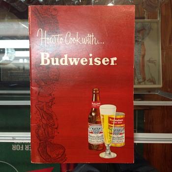 Budweiser cook book - Breweriana