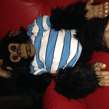 Chimp puppet a copy of axtell