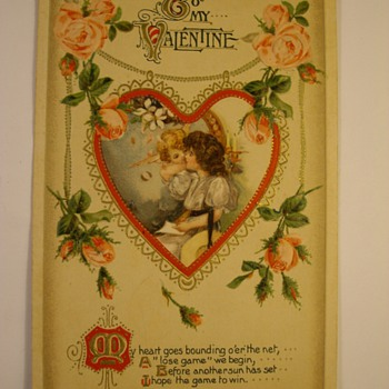 "Turn Of The Century Valentine ""Postcards"" - Postcards"