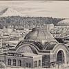 """Three Domes Tacoma"" Print by Tom Pickerel"
