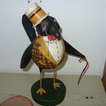 the black bird - Folk Art