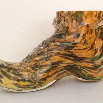 A guilty pleasure - Welz shoe - Art Glass
