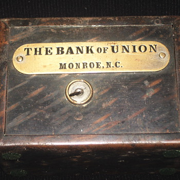 "Promotional Advertising Bank""The Bank Of Union""Monroe,North Carolina,, Circa 1900"