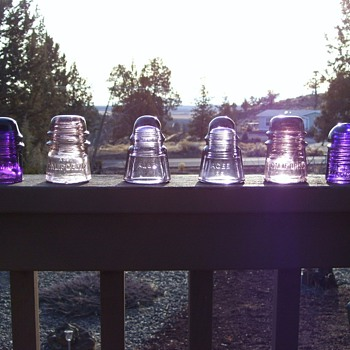 Purple Insulators