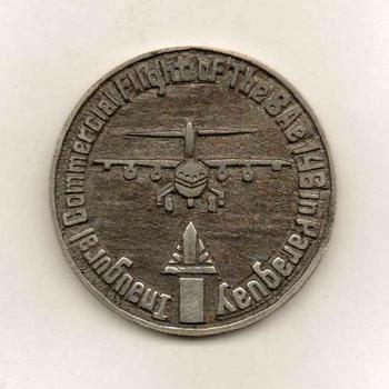 Paraguayan Airlines Inaugural Flight Medal - Advertising