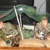 GI Joe Green Beret Machine Gun Outpost Set 1966