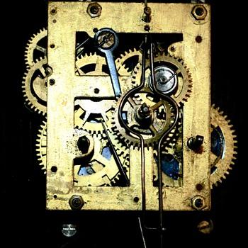 Maybe a Seth Thomas early clock? - Clocks