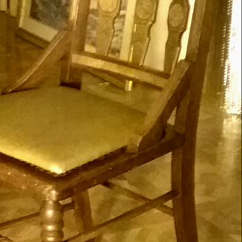 Very old chair mystery