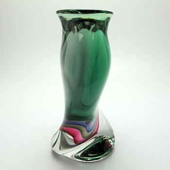Murano Vase by F. Ragazzi - Art Glass
