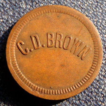 C. D. Brown???? - US Coins