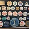 Automobile Pinback Button Collection