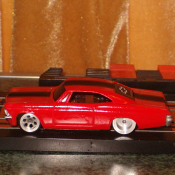 H.O. SCALE 65 CHEVY IMPALA SS CUSTOM - Model Cars