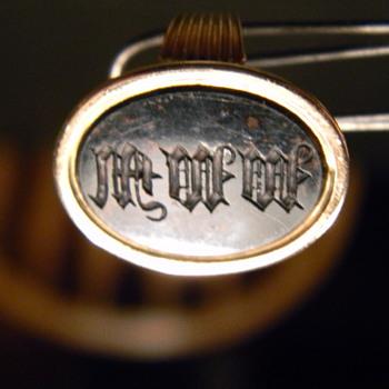 "18k Victorian ""Seal Ring"" - Fine Jewelry"