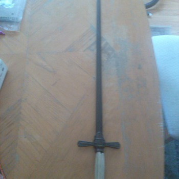 a sword I found have no ideal what it is