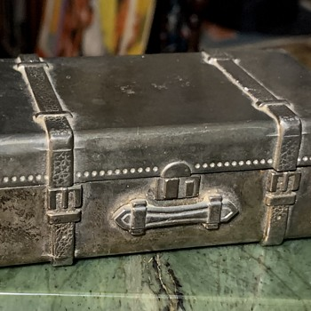 Small Metal Piece of Luggage [box] - Bags
