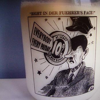 Fantasy (FAKE) War Slogan..........PHONY AS A $3 BILL - Bottles