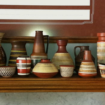 West German Pottery, my collection - Pottery